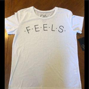 Chaser  Feels T Shirt NWT size medium